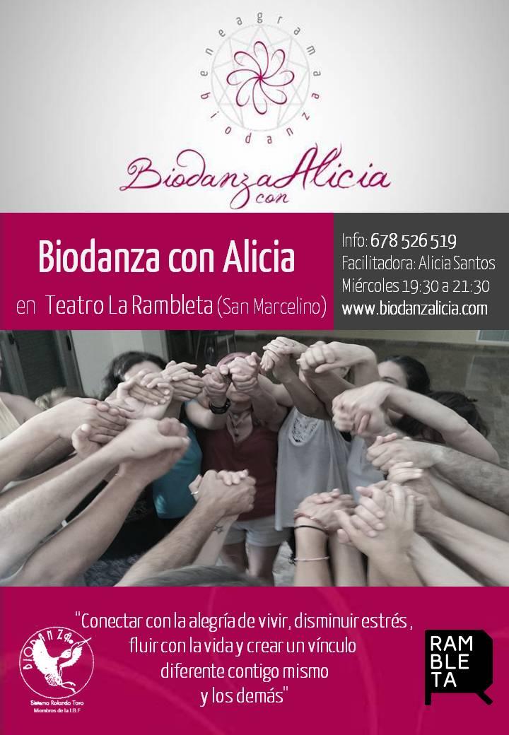 BIODANZA EN LA RAMBLETA 7 30 a 9 30